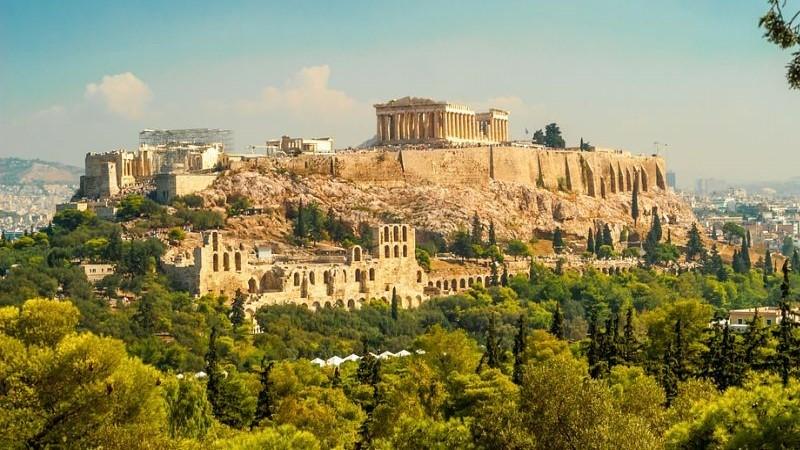 Акрополь а Афинах