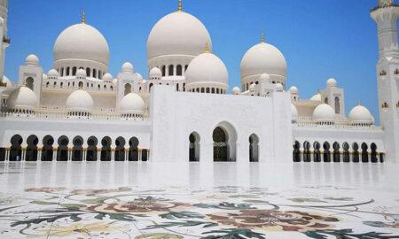 Белоснежная-мечеть-Абу-Даби