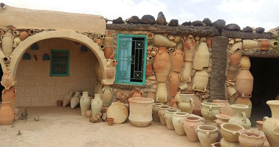 Деревня гончаров Геллала