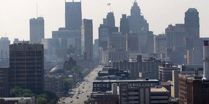 Где находится Детройт