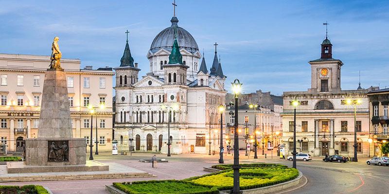 Лодзь, Польша – открыть для себя свою культуру и ночную жизнь