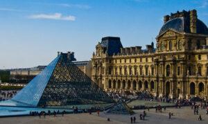 Лувр, первоначально королевский дворец, но теперь самый известный музей в мире