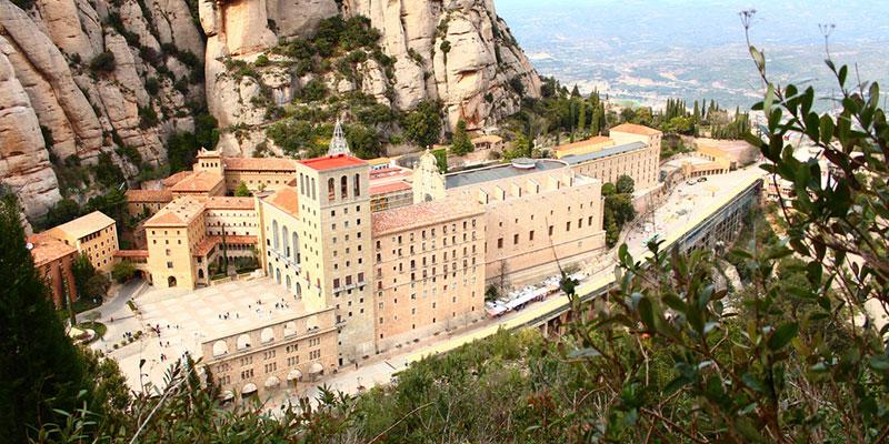 Монастырь Монсеррат в Барселоне