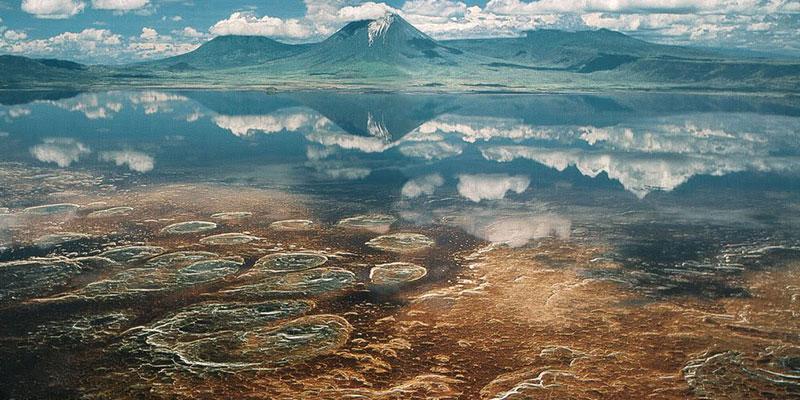 Озеро Натрон. Аруша, Танзания