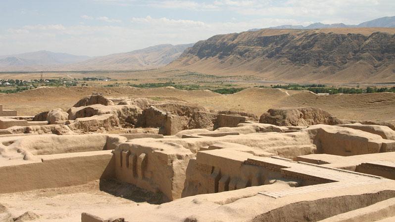 Парфянские-Крепости-Нисы. Объекты всемирного наследия юнеско в Туркменистане