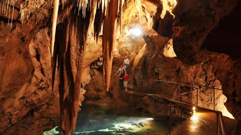 Подземные лабиринты Дженолан (Австралия)