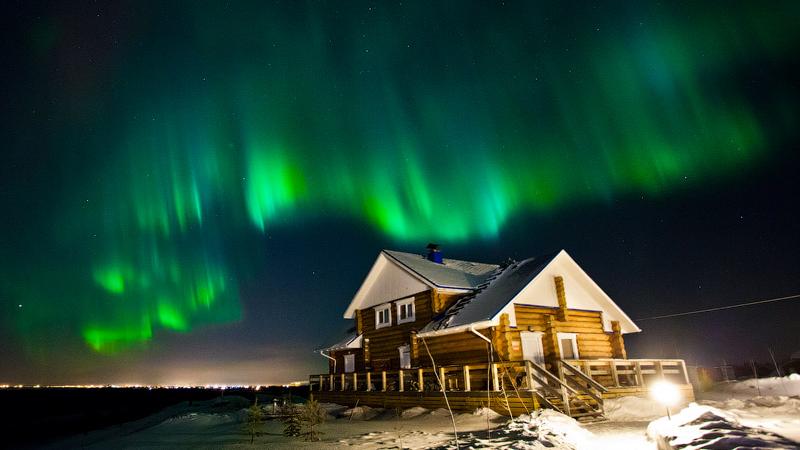 Финляндия (Северное сияние)