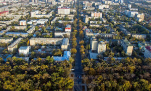 где находится Бишкек