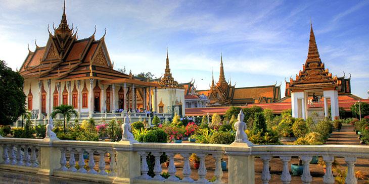 где находится пномпень