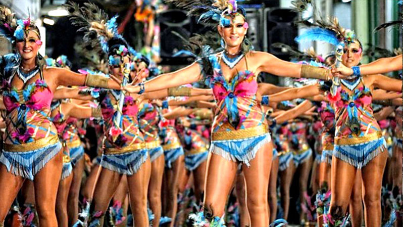 ТОП-10 самых красивых и популярных карнавалов нашей планеты. Карнавал в СИДЖЕСЕ.