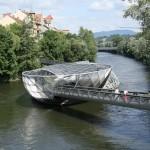 Мост-остров. Австрия