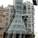 """""""Танцующий"""" дом в Праге. Чехия"""