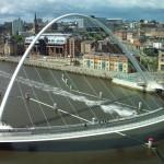 """Наклоняемый мост """"Миллениум"""". Англия"""