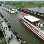 Магдебургский водный мост – акведук. Германия