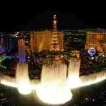 Танцующие фонтаны Bellagio. Лас-Вегас