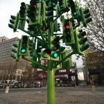 Сфетофорное дерево. Лондон