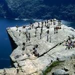 Прекестулен. Норвегия