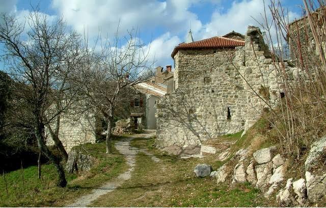 Хум - самый маленький город в мире. Хорватия