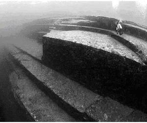 Затонувшие пирамиды Йонагуни. Япония