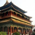 Павильон 10 000 радостей в ламаистском храме Юнхэгун. Пекин