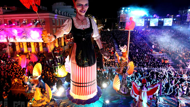 ТОП-10 самых красивых и популярных карнавалов нашей планеты. Карнавал в НИЦЦЕ.