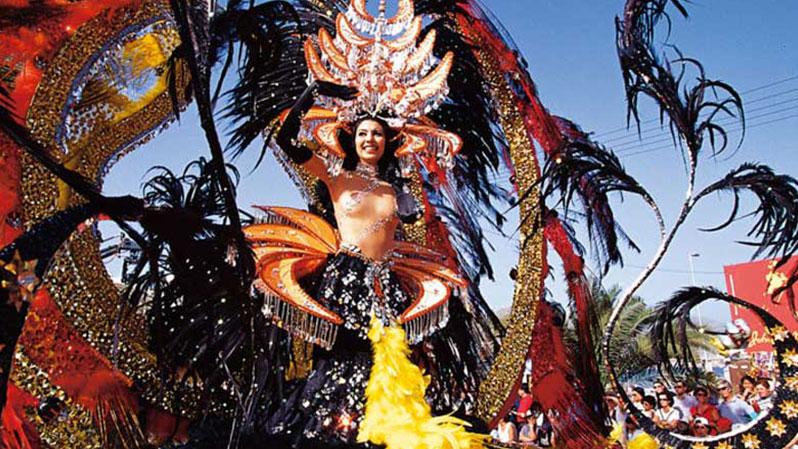 ТОП-10 самых красивых и популярных карнавалов нашей планеты. Карнавал из ТЕНЕРИФЕ.