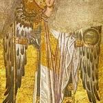 Архангел Гавриил (мозаика свода вимы)