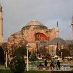 Собор Святой Софии в Стамбуле. Турция