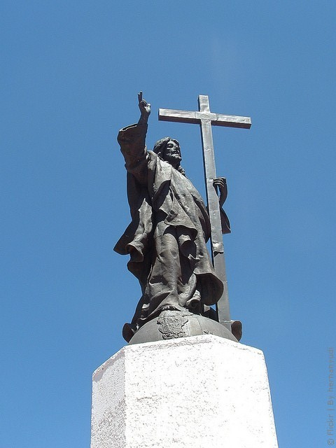 Памятник Христу Искупителю на границу Аргенитины и Чили