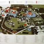 План замока Эгесков. Дания