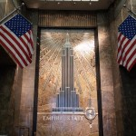 Лобби Эмпайр Стейт Билдинг в Нью-Йорке
