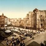 Замок графов до восстановления в начале XX века