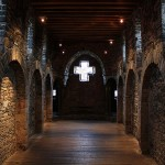 Капелла замка графов в Бельгии