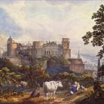 Гейдельбергский замок в начале 19 века.