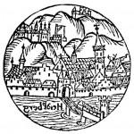 Старейшее из известных изображений (1527), автор: Себастьян Мюнстер
