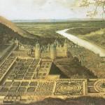 Гейдельбергский замок и его сады (Hortus Palatinus), Жак Фукьер, 1620