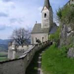Часовня замка Гохостервитц. Австрия