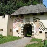 Ворота замка Гохостервитц. Австрия