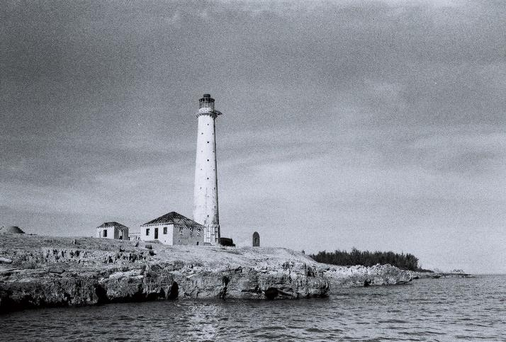 Маяк острова Исаак Кей