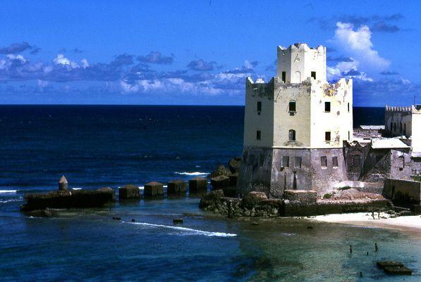 Итальянский маяк в Могадишо
