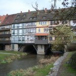 Мост Лавочников в Эрфурте