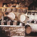 Кухня и очаг Мегала Метеора. Греция
