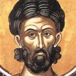 Фреска Святого Евстафия в преображенском Метеоре. Греция