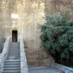 Вход в Преображенский монастырь. Греция