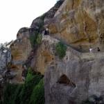 Подъем в Преображенский монастырь. Греция