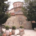 Восточная стена Преображенского собора. Греция