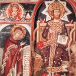"""Композиция """"Царь царем"""" в монастыре Мегеала Метеора"""