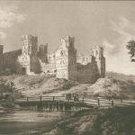 Мирский замок - рисунок 1846г. Белоруссия