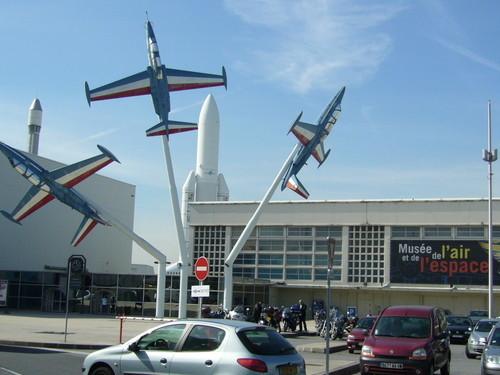 Музей авиации и космонавтики в Ле Бурже. Франция