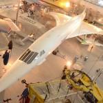 Конкорд в музее авиации и космонавтики в Ле Бурже